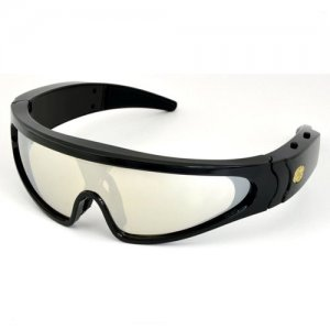 Fashionable Spy Sunglasses with Hidden Video Lens and 4GB Memory